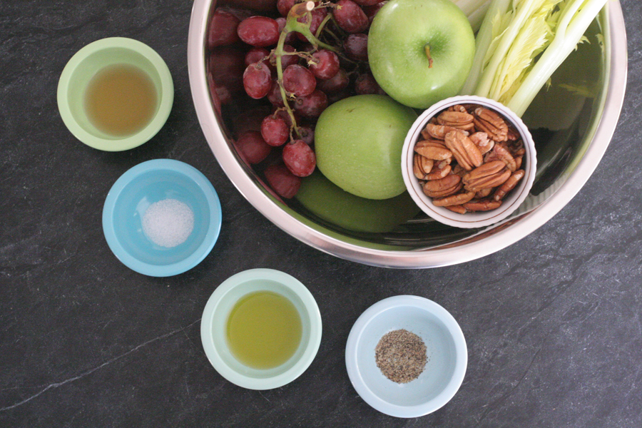 Apple, Grape and Celery Salad