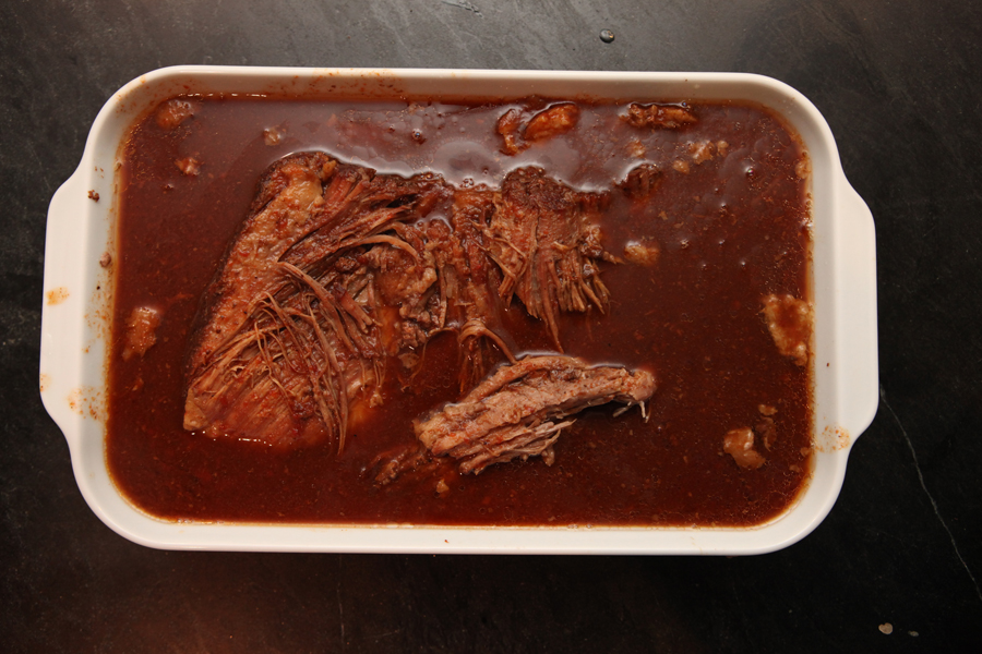 Saucy, sweet, spicy, sloppy, hot, delicious BRISKET