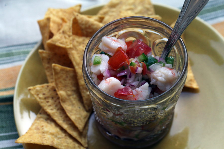 Shrimp Ceviche…a Father's Day Plan of Action