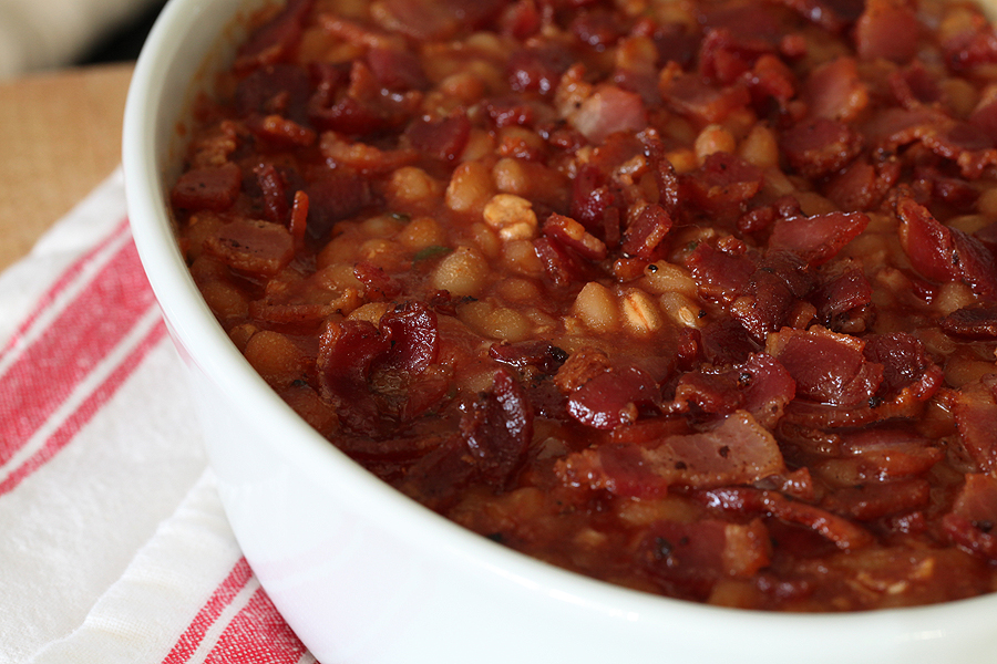 Barbecue Baked Beans Recipe — Dishmaps