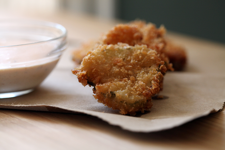 panko fried pickles with spicy fried pickles with spicy fried pickles ...