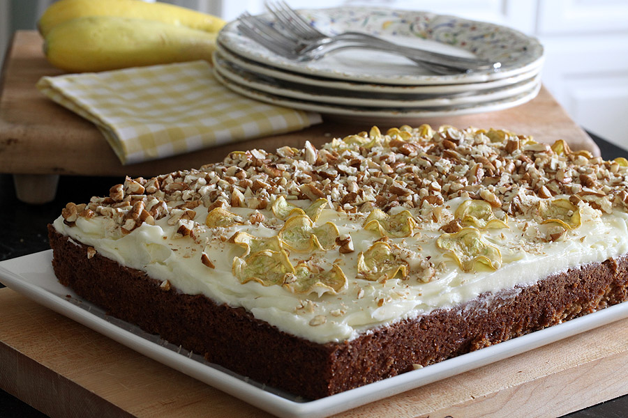 Squash Cake…a suprising and FABULOUS cake!