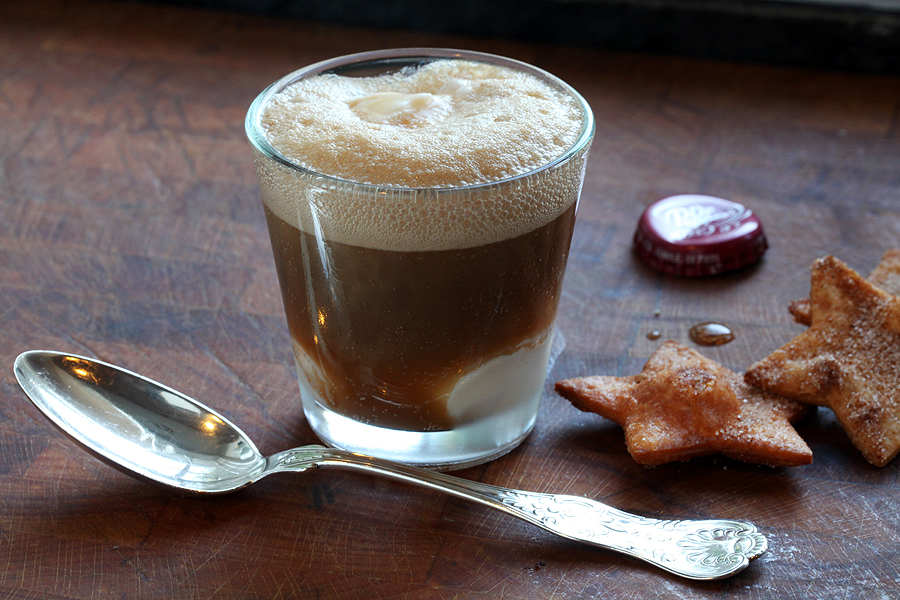 Dublin Dr Pepper Floats with Cinnamon Cookies