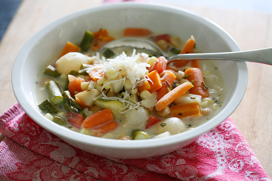 Creamy Vegetable Slow Cooker Stew