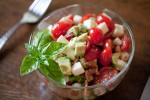 Tomato, Avocado, and Mozzarella Salad