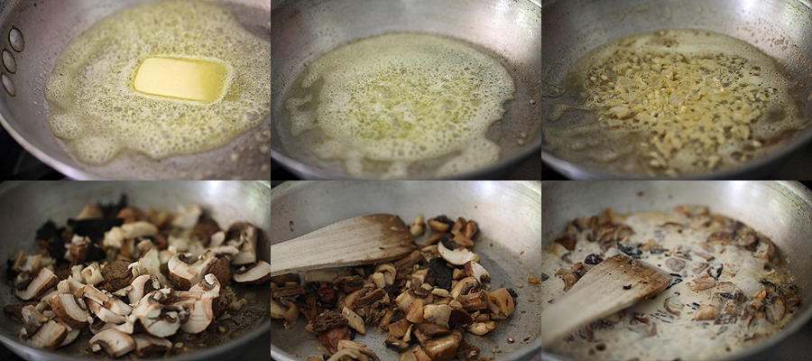photo of how to saute mushrooms