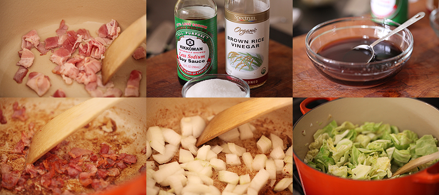 photos of how to prepare sweet and sour cabbage