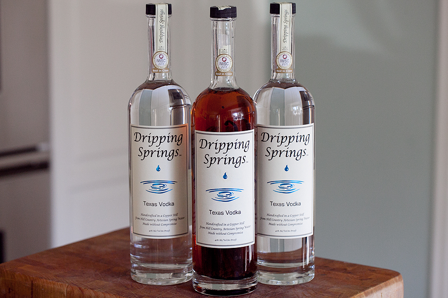 Homemade Vanilla Part 2: Dripping Springs Vodka Vanilla