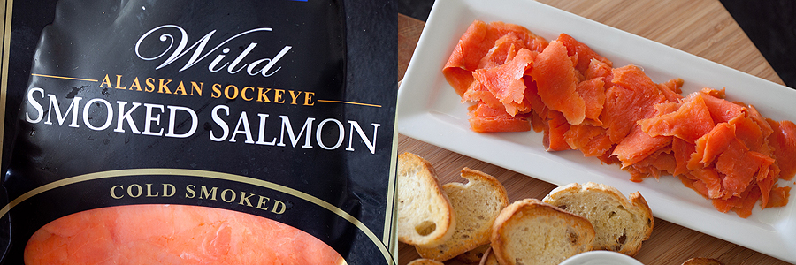photo of types of smoked salmon