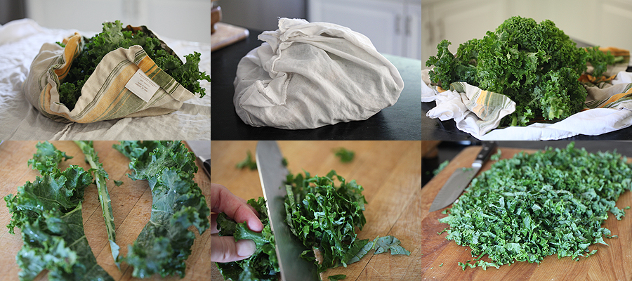 photo of how to prepare kale