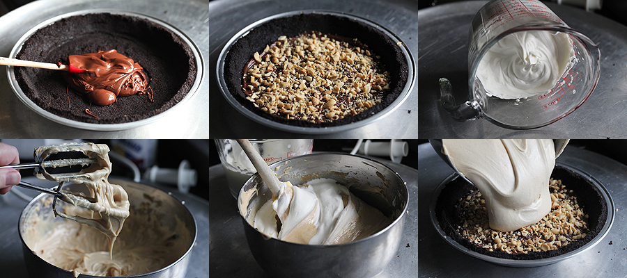 photo of how to make peanut butter pie