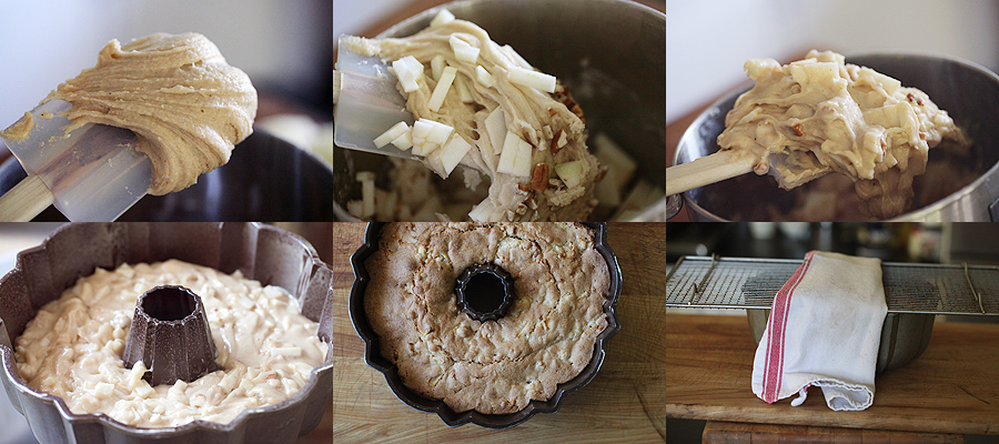 photo of how to bake an apple cake
