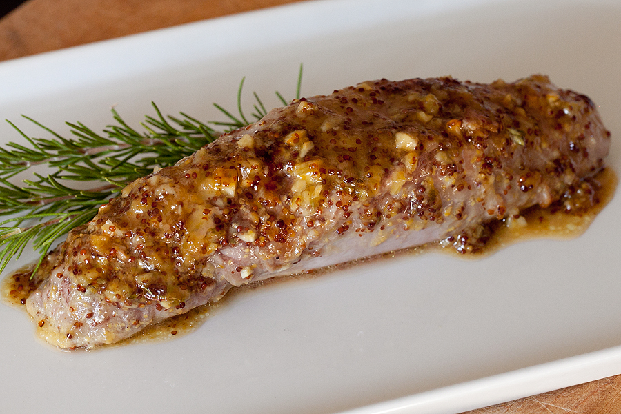 photo of whole pork tenderloin