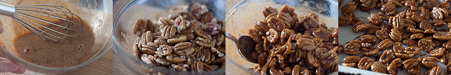 photo of how to make spiced pecans