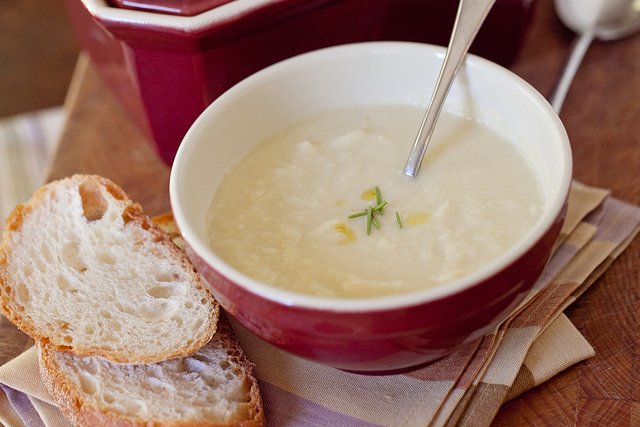 Edible Dallas & Fort Worth :: Roasted Parsnip Soup