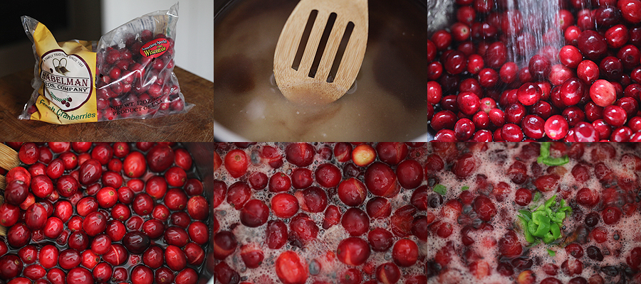 photo how to cook cranberries