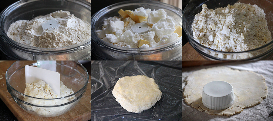 chicken pot pie dough