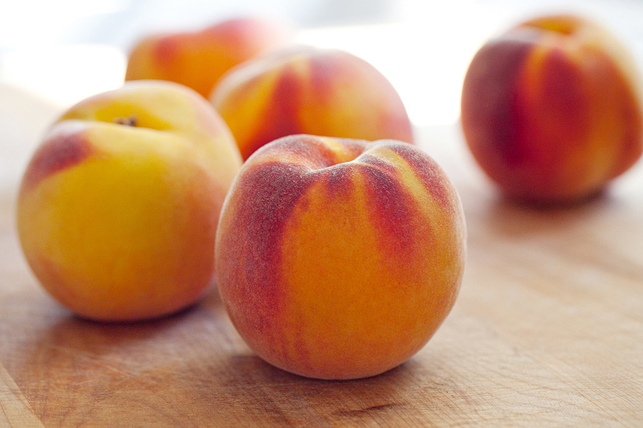 Grilled Peaches with Yogurt and Honey | My Blog
