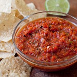 roasted red pepper salsa lead up