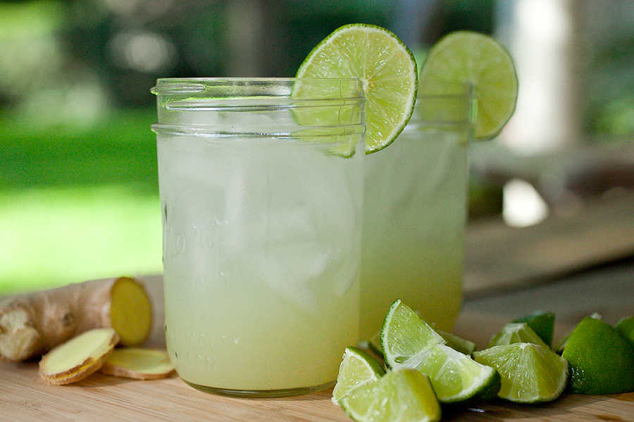 Ginger Lime Soda