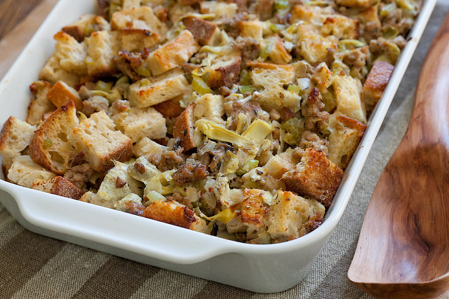Sausage Stuffing Recipe — Dishmaps