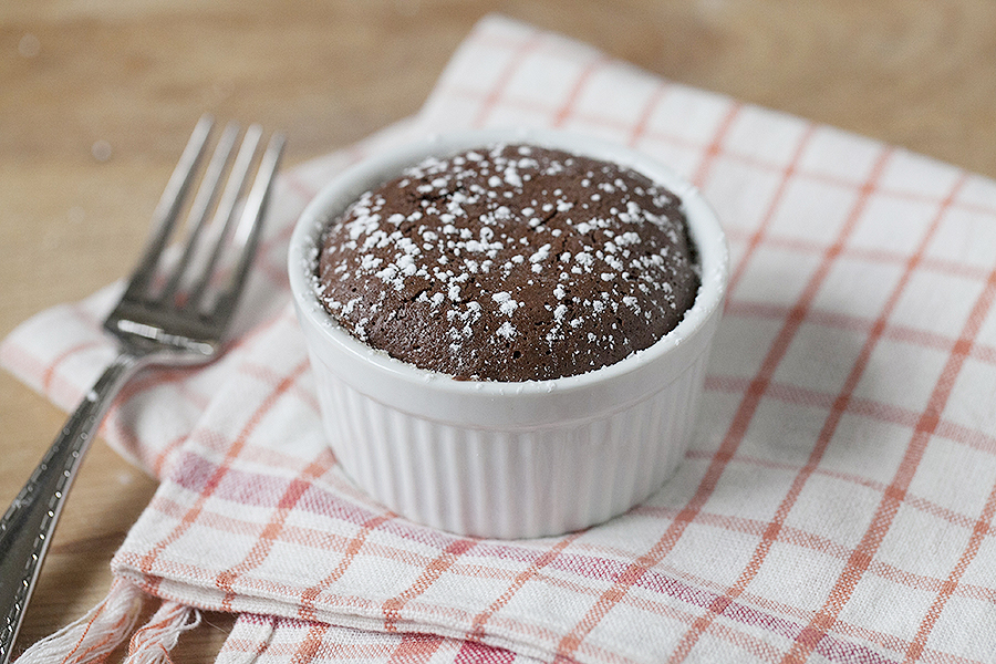 have made about eight versions of Molten Chocolate Cake (poor ...