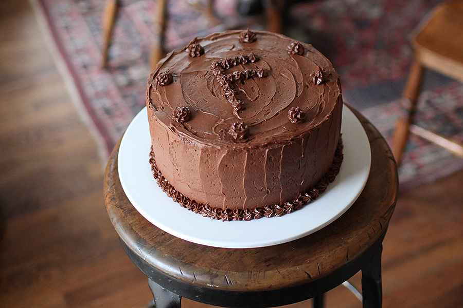 Ford's Chocolate Layer Cake
