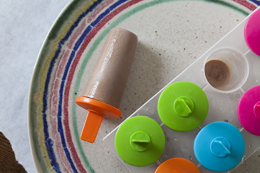 chocolate cream popsicle finale