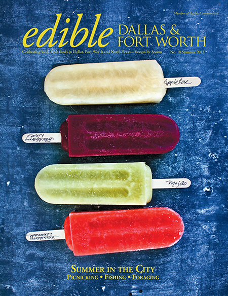 Edible Summer 2013 Cover