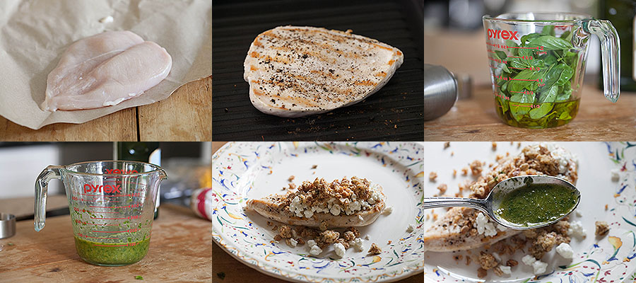 photos of procedure for making dish