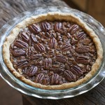 Photo of chocolate pecan pie