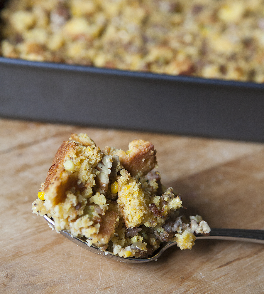 cornbread dressing for Thanksgiving