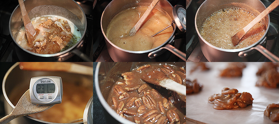 Pralines Cooking