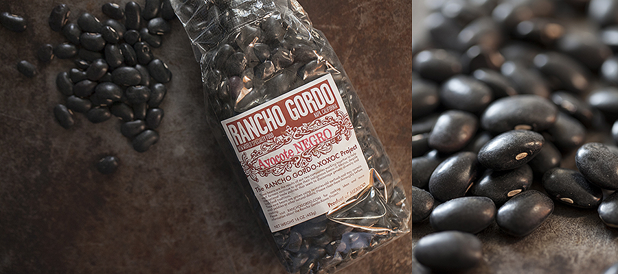 photo of rancho gordo black beans
