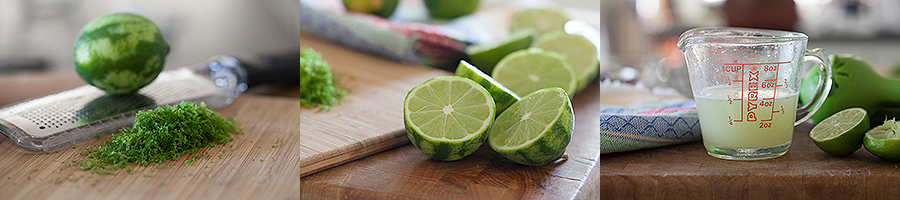 Lime Cream Cups Limes