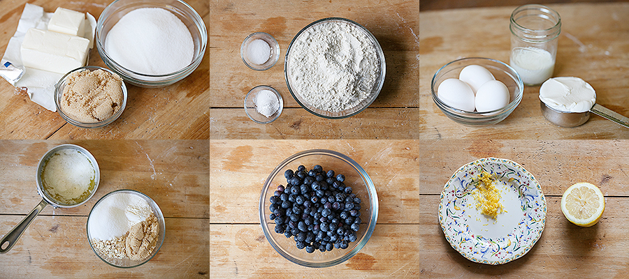 Ingredients Blueberry Buckle