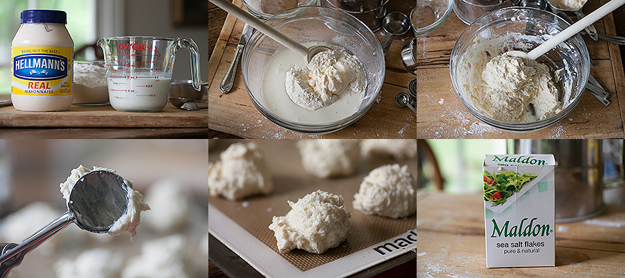Photo How to Make Mayonnaise Biscuits