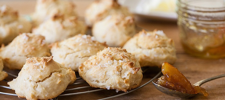 Mayonnaise Biscuits