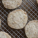 Almond Coconut Shortbread Cookies