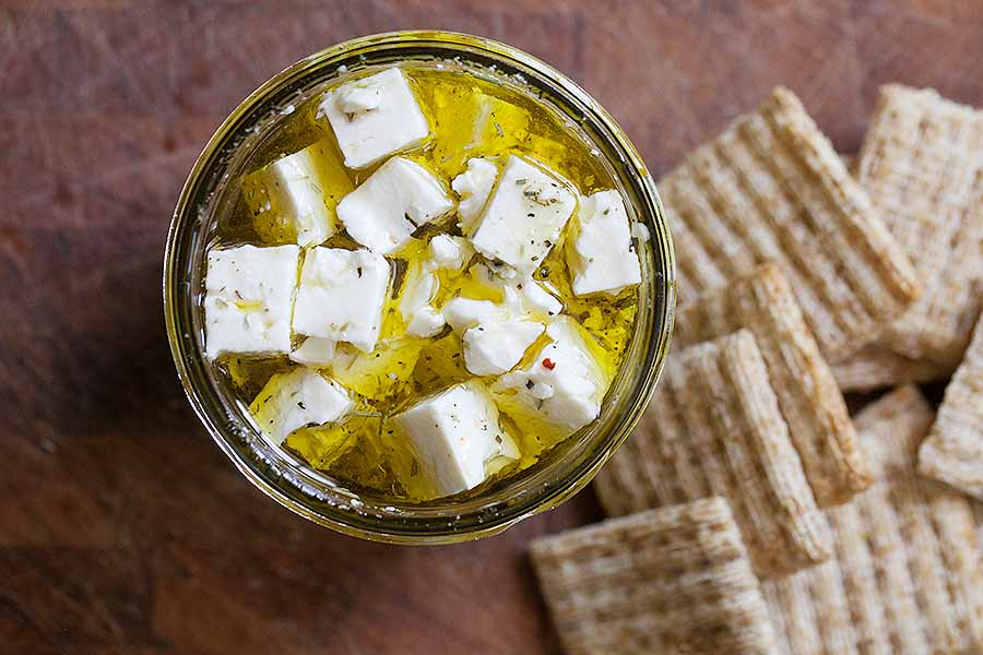 Marinated Feta Herb Mix