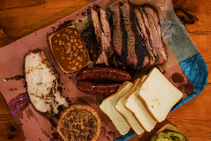 Franklin BBQ Meat Tray